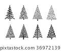 tree vector christmas 36972139