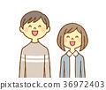 10 대 자녀 2 명 웃는 36972403