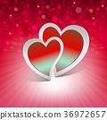 design, heart, red 36972657