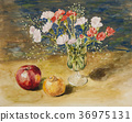 Carnation and fruits 36975131