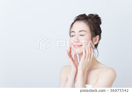 beauty, skin care, female 36975542