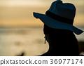 여성, 여자, 귀걸이 36977174