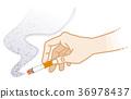 smoke, smoking, cigarette 36978437
