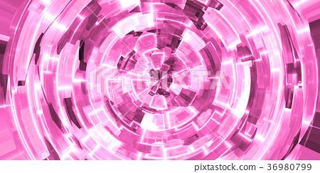 พื้นหลังพื้นผิวภาพโคลสอัพที่มีรายละเอียดอย่างสว่างไสวสดใส (การเรนเดอร์ CG 3D ความละเอียดสูง illustration ภาพประกอบระบายสี) 36980799