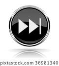 black, button, media 36981340
