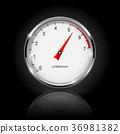 meter, gauge, car 36981382