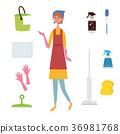 ทำความสะอาด,คน,ผู้คน 36981768
