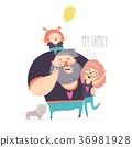 Happy family portrait 36981928