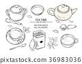 tea, vector, object 36983036