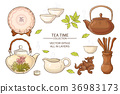 tea ceremony set 36983173