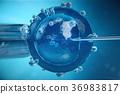 reproduction, fertilisation, 3d 36983817