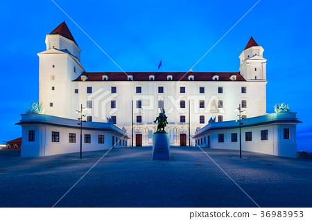 Castle in Bratislava, Slovakia 36983953