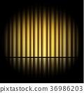golden curtain background 36986203