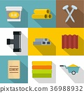 construction, work, icons 36988932