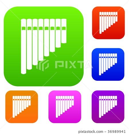 Pan flute set collection 36989941