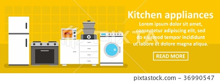 Kitchen Appliances Banner