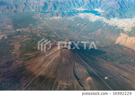 富士山在夏天 36992229