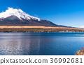 sky, lake, yamanaka 36992681
