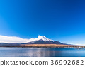 sky, lake, yamanaka 36992682
