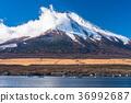 sky, lake, yamanaka 36992687