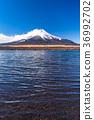 sky, lake, yamanaka 36992702
