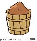 味噌 木盆 发酵食品 36994889