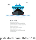 Poster Dry Cargo Ship 36996234