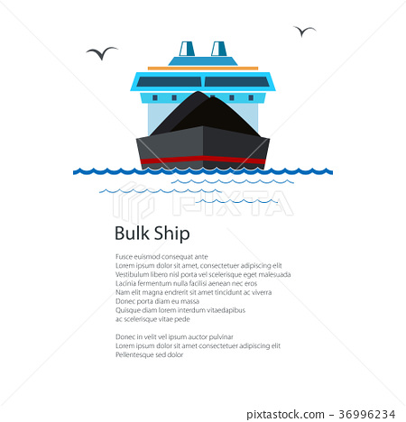 Poster Dry Cargo Ship 36996234