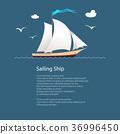 yacht, ship, sailing 36996450