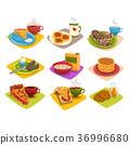 早餐 食物 食品 36996680