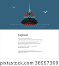 tugboat boat tow 36997309