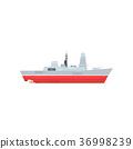 船 雷达 矢量 36998239