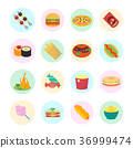 fast, food, set 36999474