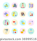 Set Vector Illustration of Health and Beauty 36999516