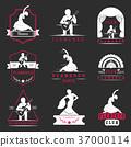 Set Logos and Badges Flamenco 37000114