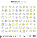 icon, line, technology 37000184