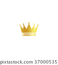 crown vector isolated 37000535