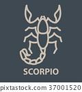 Scorpio logo template 37001520