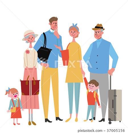 三代家庭去旅行 37005156