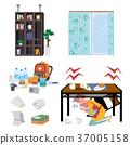 地震防灾用品例证 37005158