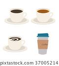 커피 홍차 일러스트 37005214