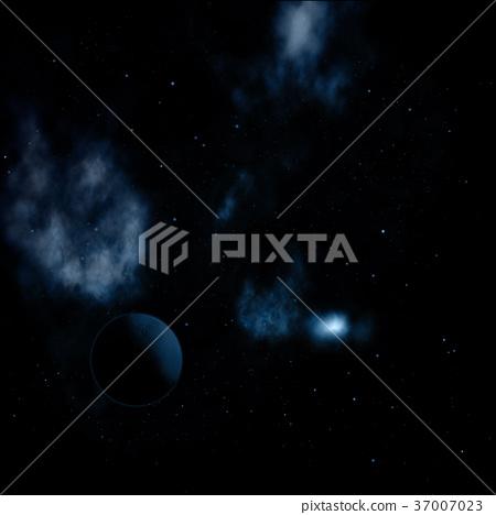 Being shone nebula 37007023