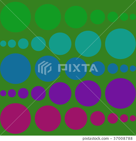 background of circles of various sizes  37008788