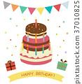Birthday cake 37010825