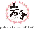 calligraphy writing, cherry blossom, cherry tree 37014541