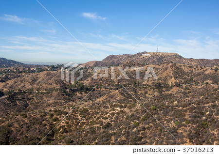 Hollywood Sign from Griffith Observatory: Griffith Observatory 37016213