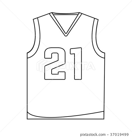 Abstract Basketball label 37019499