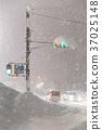 transport, heavy snow, traffic light 37025148