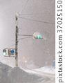 transport, heavy snow, traffic light 37025150