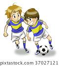축구 소년 아이 37027121
